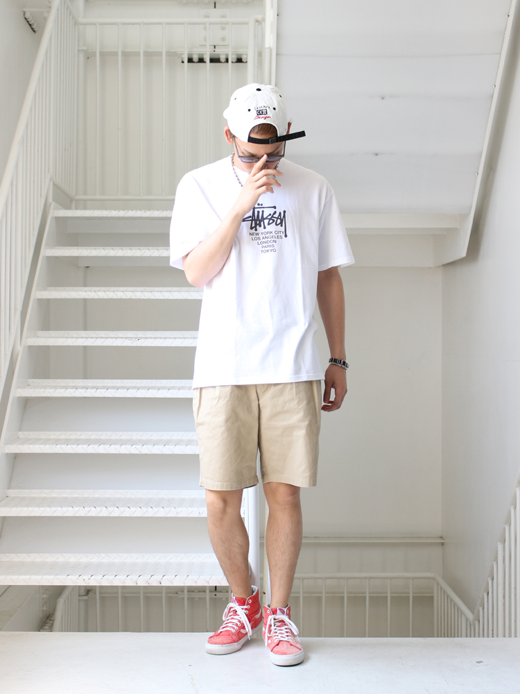 【tmp 2017SS Styling】 2017/6/11 [#127] C.E/STUSSY